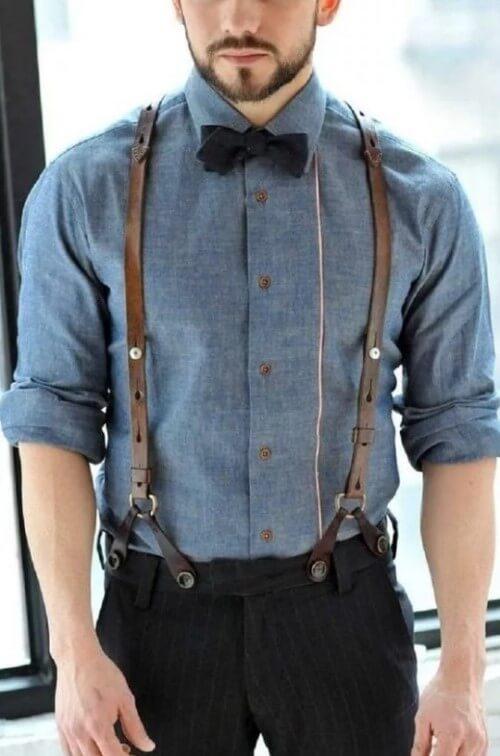 может снять рубашка с подтяжками мужские фото может избавить любого